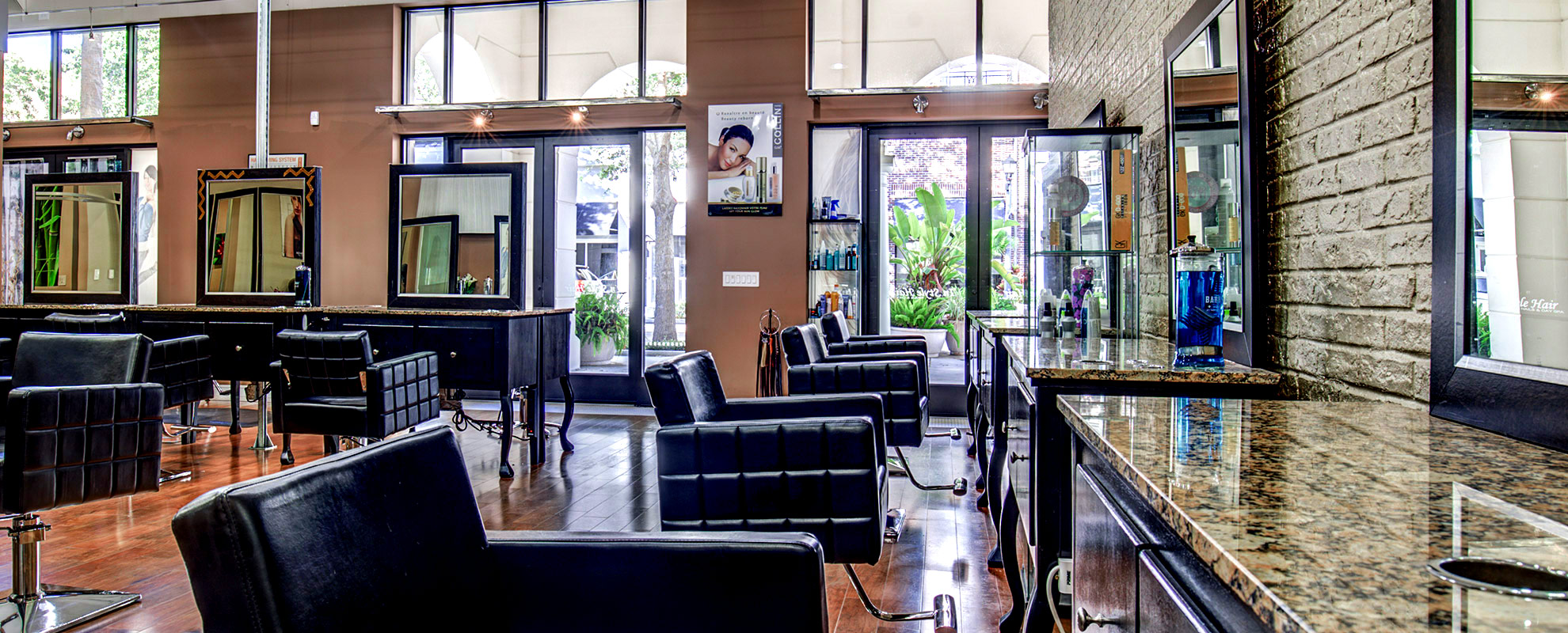 In Style Hair Salon Interior