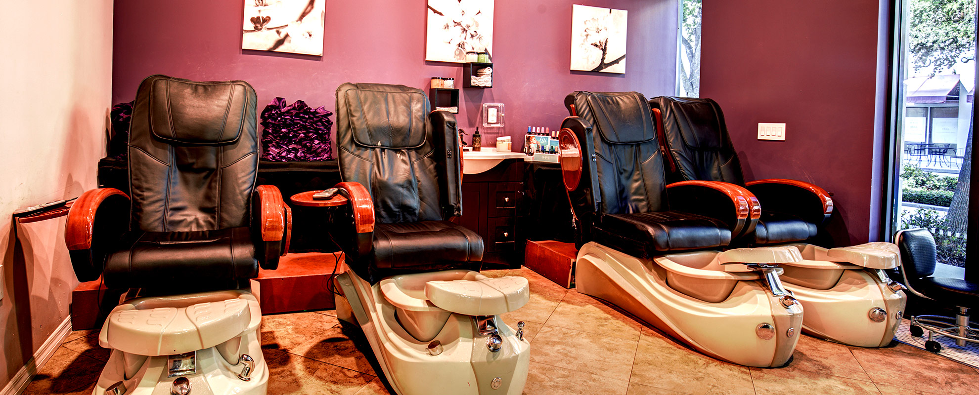 Instyle Hair Salon Massage Chairs