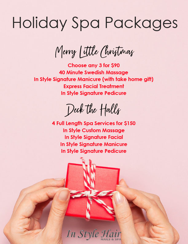 Holiday Spa Package